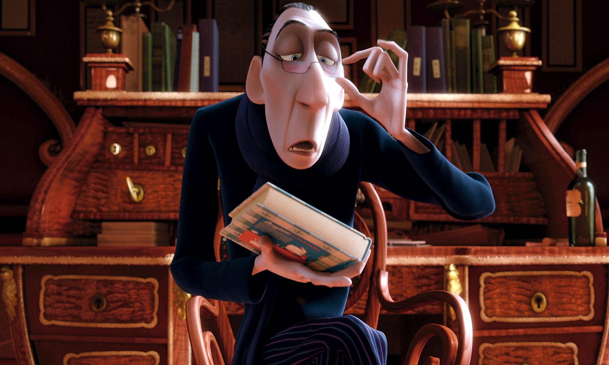 Anton Ego, the critic from Disney's 2007 film, Ratatouille