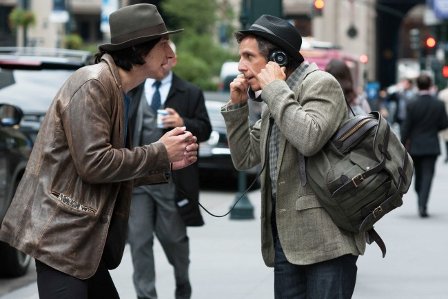 WHILE WE'RE YOUNG - 2015 FILM STILL - Adam Driver and Ben Stiller - Photo Credit: Jon Pack, Courtesy of A24